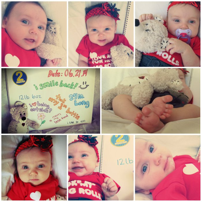 Happy 2 Month, Emma Josephine!