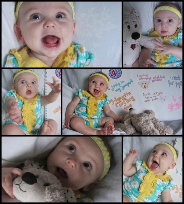 Happy 4 Months, Emma Josephine!